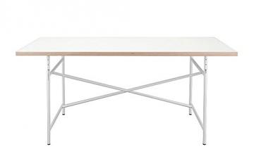 Tischplatte weiß  Eiermann Schreibtisch Tischplatte weiß - Schreibtisch