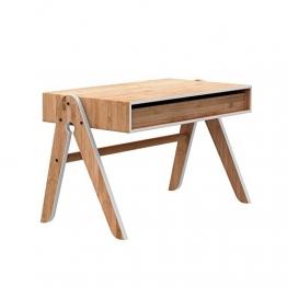 Schreibtisch design holz  Schreibtisch Design Holz ist das heute noch zeitgemäß