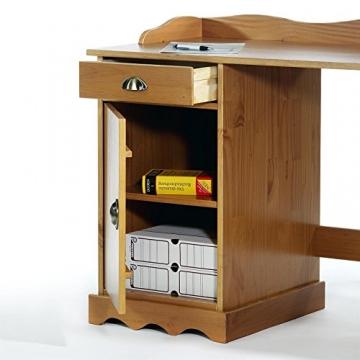 Schreibtisch mit Aufsatz 2