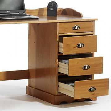 Schreibtisch mit Aufsatz 3