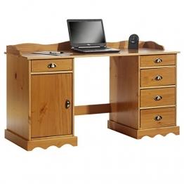 Schreibtisch mit Aufsatz 1