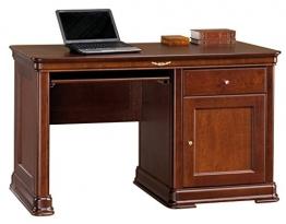 """Schreibtisch """"Nemea"""" Erle Kirschfarben 160 - Abmessungen: 132 x 78 x 67 cm (B x H x T) -"""