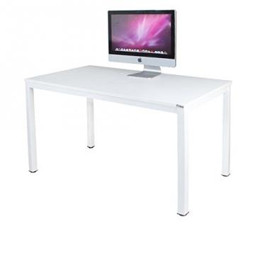 Eckschreibtisch weiß hochglanz  ▷ Schreibtisch weiß hochglanz II❶II hochwertige Holzfaserplatte